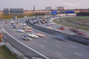 Auf der Autobahn gilt teilweise nur eine Richtgeschwindigkeit.