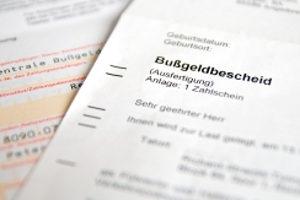 Was bedeutet Rechtskraft vom Bußgeldbescheid?